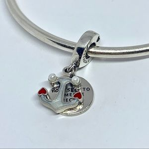 Anchor & Hearts Dangle Charm